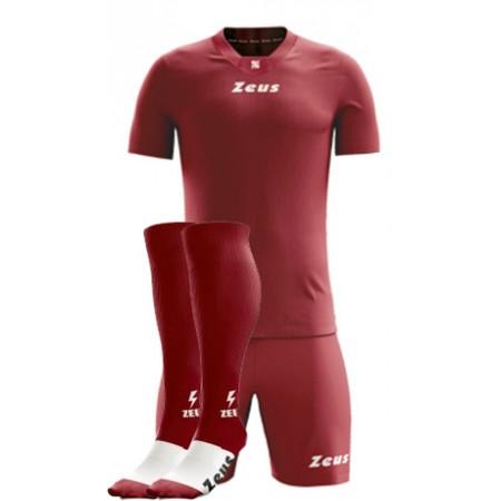 Футбольная форма бордовая Zeus KIT PROMO футболка шорты гетры Z00528