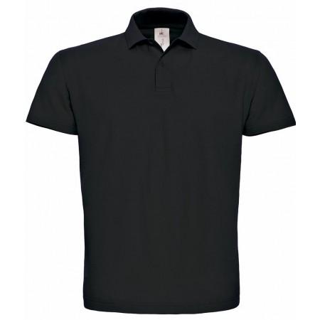 Поло B&C ID.001 цвет черный(002)