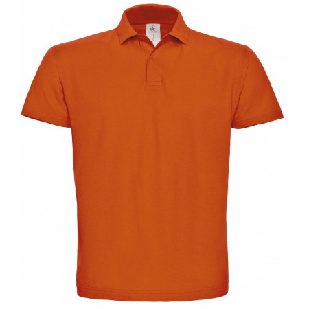 Поло B&C ID.001 цвет оранжевый(235)