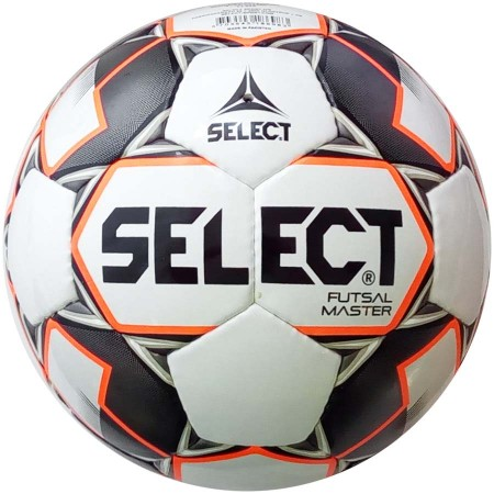 Футзальный мяч Select Futsal master IMS бело-черно-оранжевый