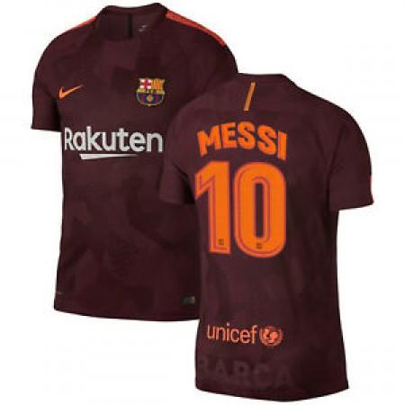 Детская футбольная форма ФК Барселона Messi FC Barcelona 2017Y THIRD