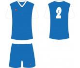 Футбольная форма Titar Универсал II сине-белая
