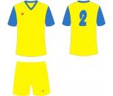 Футбольная форма Titar Универсал II желто-голубая