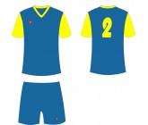Футбольная форма Titar Универсал II сине-желтая