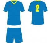 Футбольная форма Titar Универсал голубая