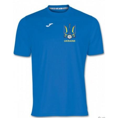 Акция! Хит! Футболка Joma Combi 100052.700 с гербом Украина на сердце