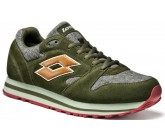 Кроссовки Lotto TRAINER VIII TWD (S4193) THYME/BROWN TOFFEE