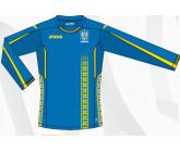 Игровая футболка с длинный рукавом сборной Украины по футболу Joma FFU102011.17