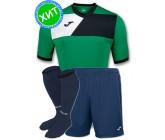 Комплект футбольной формы Joma CREW II 100611.451-2(футболка+шорты+гетры)