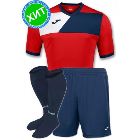 Футбольная форма Joma CREW II 100611.603(футболка+шорты+гетры)