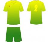 Футбольная форма Titar сублимация салатово-зеленая
