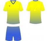 Футбольная форма Titar CoolMax сублимация желто-синий