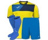 Комплект футбольной формы Joma CREW II 100611.903(футболка+шорты+гетры)
