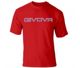 Футболка Givova T-shirt Spot красная MA008.0012