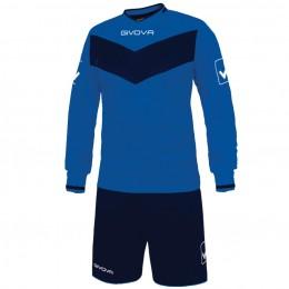 Футбольная форма Givova Kit Olimpia сине-голубая KITT44.0204