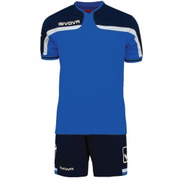 Футбольная форма Givova Kit America сине-голубая KITC47.0204