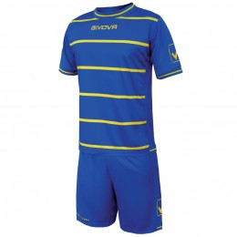 Футбольная форма Givova Kit Caos голубая KITC41B.0207