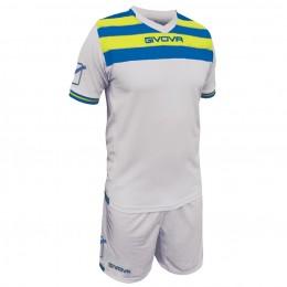 Футбольная форма Givova Kit Curva белая KITC40B.0702