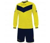 Футбольная форма Givova Kit Olimpia желто-синяя KITT44.0704