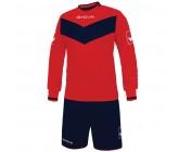 Футбольная форма Givova Kit Olimpia красно-синяя KITT44.1204
