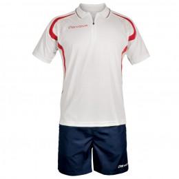Футбольная форма Givova Kit Easy бело-синяя KIT034.1204
