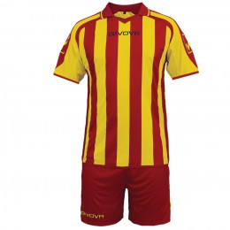 Футбольная форма Givova Kit Supporter желто-красная KITC24.1207