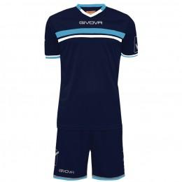 Футбольная форма Givova Kit Game синяя KITC52.0405