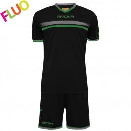 Футбольная форма Givova Kit Game черная KITC52.1034