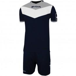 Футбольная форма Givova Kit Campo синяя KITC53.0427