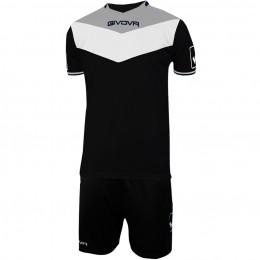Футбольная форма Givova Kit Campo черная KITC53.1027