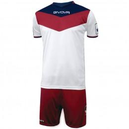 Футбольная форма Givova Kit Campo красно-белая KITC53.1203