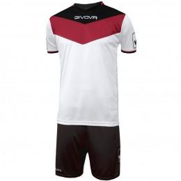 Футбольная форма Givova Kit Campo черно-белая KITC53.1210