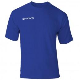 Футболка Givova T-shirt Fresh синяя MA007.0004
