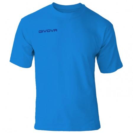 Футболка Givova T-shirt Fresh голубая MA007.0005