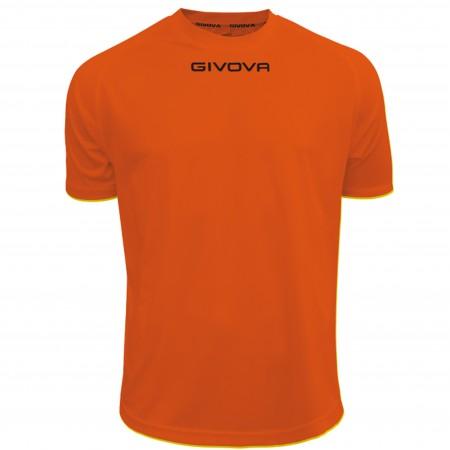 Футболка Shirt Givova One оранжевая MAC01.0001