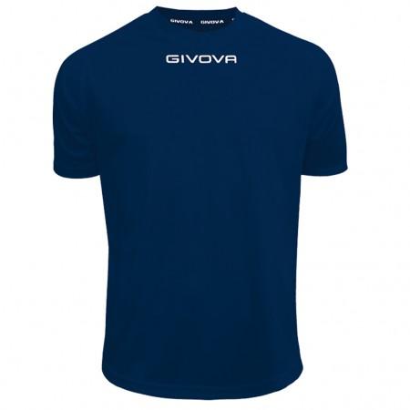 Футболка Shirt Givova One синяя MAC01.0004
