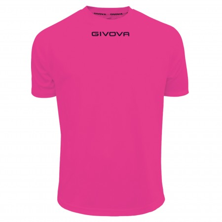 Футболка Shirt Givova One малиновая флуоресцентная MAC01.0006