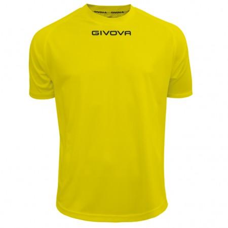 Футболка Shirt Givova One желтая MAC01.0007