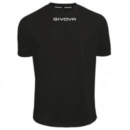 Футболка Shirt Givova One черная MAC01.0010