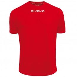 Футболка Shirt Givova One красная MAC01.0012