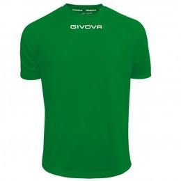 Футболка Shirt Givova One зеленая MAC01.0013