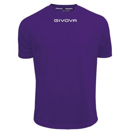 Футболка Shirt Givova One фиолетовая MAC01.0014