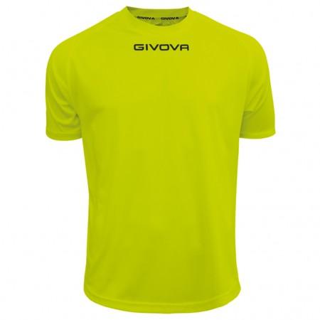 Футболка Shirt Givova One салатовая флуоресцентная MAC01.0019