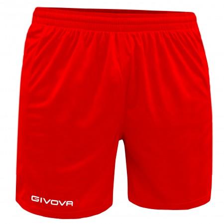 Шорты Pantaloncino Givova One красные P016.0012