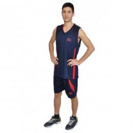 Баскетбольная форма Europaw сине-красная bb-euro-01197