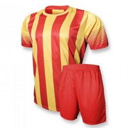 Футбольная форма Europaw club красно-желтая fb-euro-00079