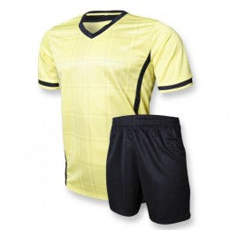 Футбольная форма Europaw club желто-черная fb-euro-00082