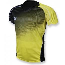 Футболка игровая Europaw 007 черно-желтая fb-euro-003