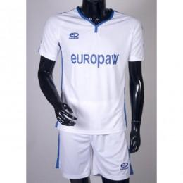 Футбольная форма Europaw 009 бело-синяя fb-euro-004
