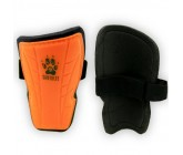Щитки футбольные детские Europaw оранжевые fb-euro-01256